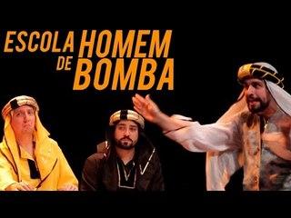 ESCOLA DE HOMEM BOMBA | Na Sarjeta Show