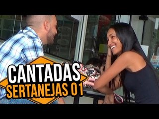 CANTADAS SERTANEJAS 01 | Na Sarjeta