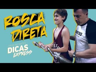 ROSCA DIRETA PARA INICIANTES - DICAS EXPRESS #9