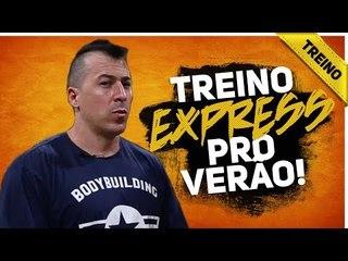 TREINO DE 20 MINUTOS NA ACADEMIA CHEIA!