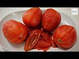 Como tirar a casca do tomate de maneira fácil   Receitas Guia da Cozinha