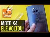 Moto X4 de volta foi uma boa escolha da Motorola? - EuTestei