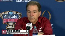 "Nick Saban Sugar Bowl Postgame: ""It Was A Little Bit Personal"""