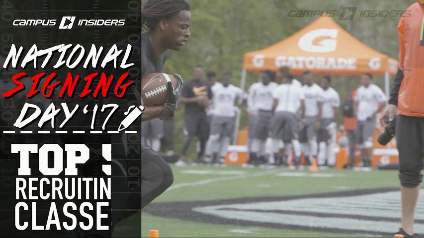 Top 5 Recruiting Classes | National Signing Day