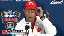 "Dabo Swinney Sugar Bowl Postgame: ""Championship Football Is A Game Of A Few Plays"""