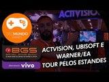 Activision, Ubisoft e Warner/EA: Tour pelos estandes [BGS 2015] - TecMundo Games