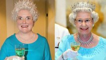 Woman Attempts to Dress and Drink Like Queen Elizabeth II for a Week