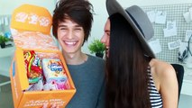 TRYING JAPANESE CANDY & SNACKS | TokyoTreat Unboxing Taste Test