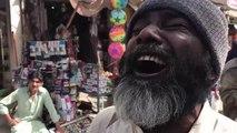 A blind man reciting Naat and Qasiday of Mola Ali (as) | Bara Lajpal e Ali (as).