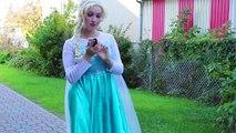 Frozen Elsa Gets BIG EARS spell! w  Joker Fairy Godmother Spiderman Superheroes Fun in real life IRL | Superheroes | Spiderman | Superman | Frozen Elsa | Joker
