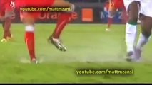 EPIC Fake Football Injury - African Cup of Nations 2012 - Equatorial Guinea vs Senegal