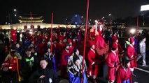 JO-2018: la flamme olympique arrive à Séoul
