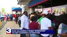 Aspiring Rapper Robs Wingstop To Get Owner Rick Rosss Attention