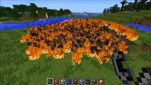 Minecraft: MORE TNT MOD (35 TNT EXPLOSIVES AND DYNAMITE!) TOO MUCH TNT Mod Showcase