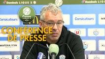 Conférence de presse Tours FC - Clermont Foot (0-0) : Jorge COSTA (TOURS) - Pascal GASTIEN (CF63) - 2017/2018