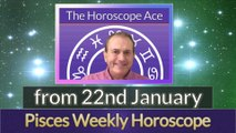 Pisces Weekly Horoscope from 22nd January - 29th January 2018