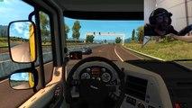 Euro Truck Simulator 2 Daf XF Heavy Cargo Transport Logitech G29
