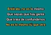 Alejandro Sanz -  No es lo mismo (Karaoke)