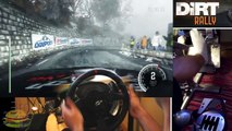 DiRT Rally - drifting BMW M3 E30 Evo @ snow stage in Monte Carlo stage, (Full HD) new.