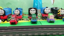 Thomas & Friends Minis Go to Jail at Alcatraz - Worlds Strongest Engine Thomas the Tank Engine