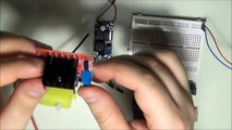 Arduino Tutorial 37 DC motor control and PWM signal with L298N H