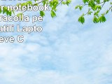 Sidorenko  Borsa in Neoprene per notebook borsa a tracolla per PC portatili Laptop Sleeve