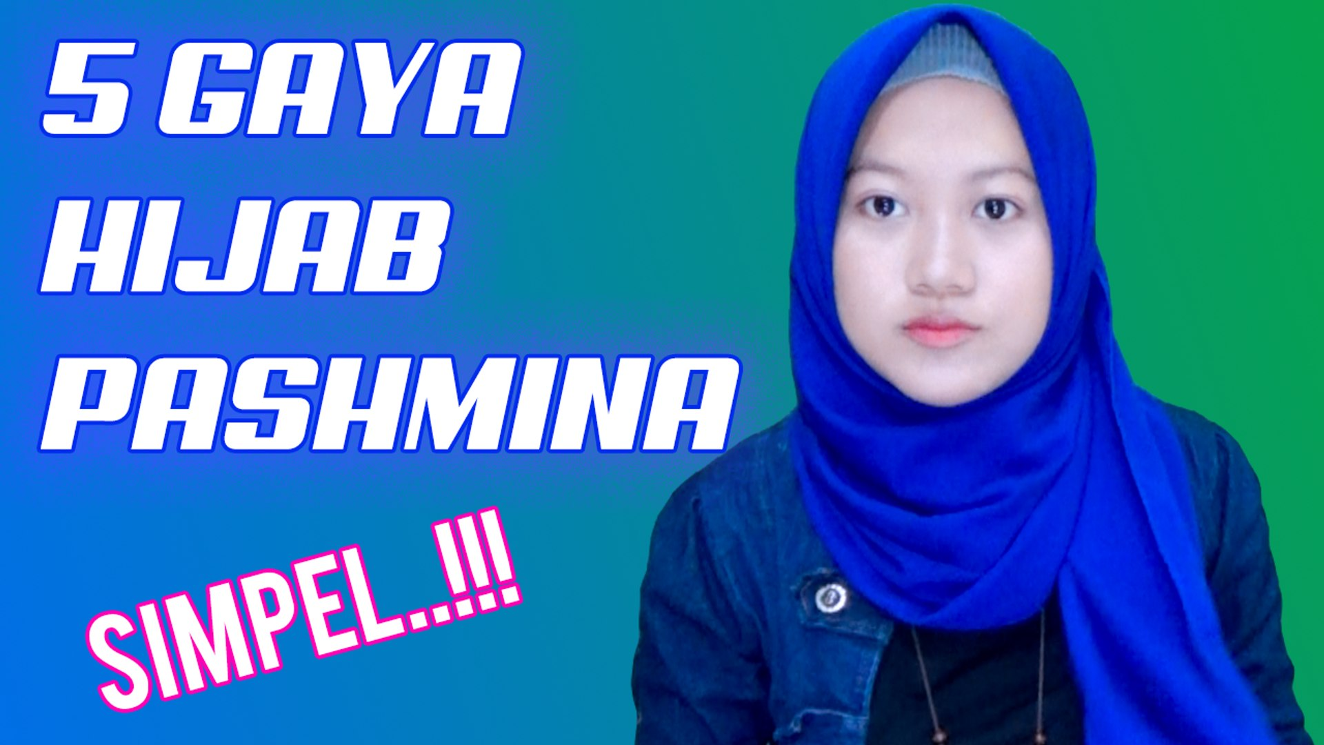 5 Tutorial Hijab Pashmina Simpel Banget Plus Tips Jadiin Segi Empat Nmy Hijab Tutorials Video Dailymotion