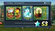 +50 PACKS DE 20K - Estrelas de Pular Desafio - Plants vs Zombies Garden Warfare