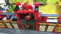 bela 닌자고 시티의 전투 닌자 사원 70728 레고 짝퉁 조립 리뷰 lego knockoff ninja Battle for Ninjago City