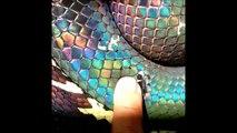 La peau de ce serpent est incroyable