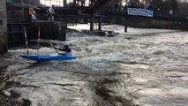 Championnat départemental de slalom de canoë-kayak