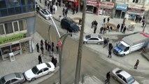 Teröristlerden füzeli saldırı: 1 şehit 3 yaralı