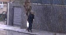 Meteoroloji Günler Öncesinden Uyarmıştı! Üsküdar ve Çamlıca'da Kar Yağışı Başladı