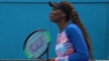 Open d'Australie 2018 - Venus Williams à l'entrainement à Melbourne