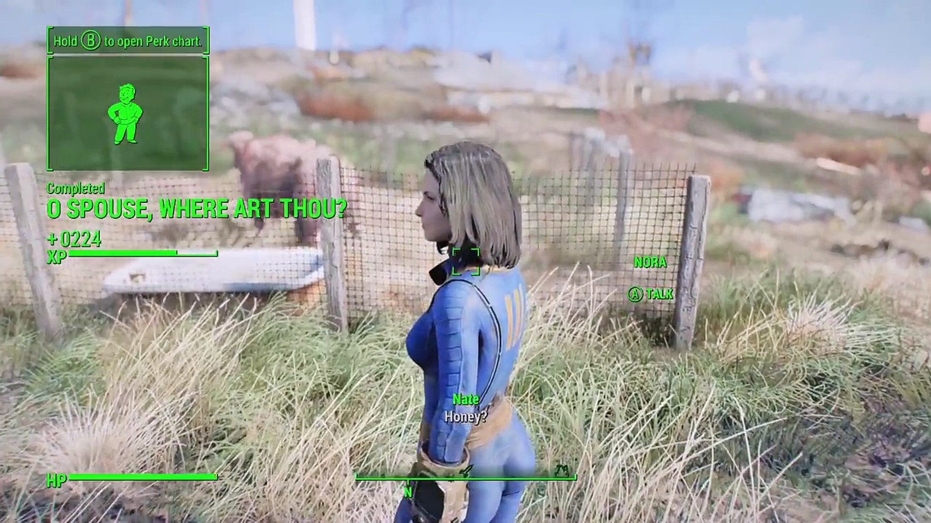 Fallout 4 - NORA SURVIVES - Finding Nora Quest & Meeting Codsworth Together  - Amazing Xbox & PC Mod