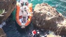 Antalya Akrobatik Hareketler Yaparken Falezlerden Düşüp Yaralandı