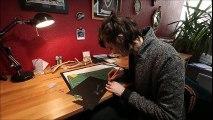 Besançon : Simone découpe expose à la Galerie des Martyrs et explique son travail