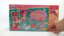 new Lalaloopsy Kids Baking Oven - Double Layer Cake, Sugar & Chocolate Chip Cookies!