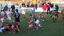 Le Rugby Club Auxerrois fait chuter le leader invaincu Grand Dole