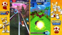 Sonic Dash vs Sonic Dash 2: Tails vs Tails