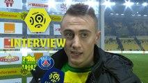 Interview de fin de match : FC Nantes - Paris Saint-Germain (0-1)  - Résumé - (FCN-PARIS) / 2017-18