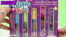 Dippin Dots Ice Cream Lip Gloss Wands! NEW Yummy Scented Lip Balms in Fun Flavours!
