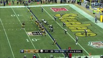 Pittsburgh Steelers quarterback Ben Roethlisberger fires tight-window throw to wide receiver JuJu Smith-Schuster for late TD