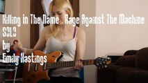 Rage Against the Machine - Killing in the Name - Solo played by Emily Hastings