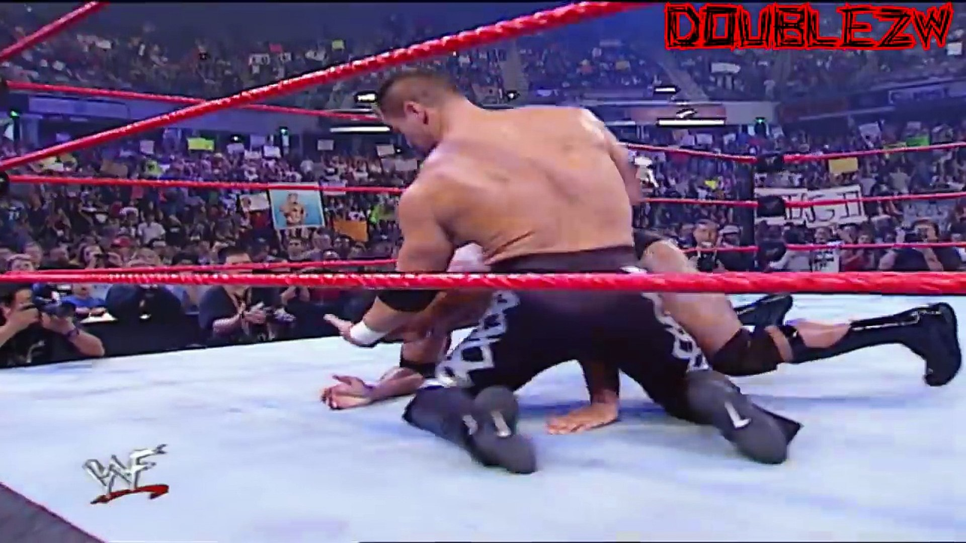 The Rock vs. Lance Storm - 8-20-2001 Raw