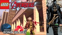 BLADE EVOLUTION in Lego Marvel Videogames (2013 - 2018)