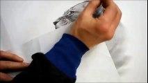 연필그림 - 동물(사자)그리기 [Realistic animal drawing - lion / Speed drawing]