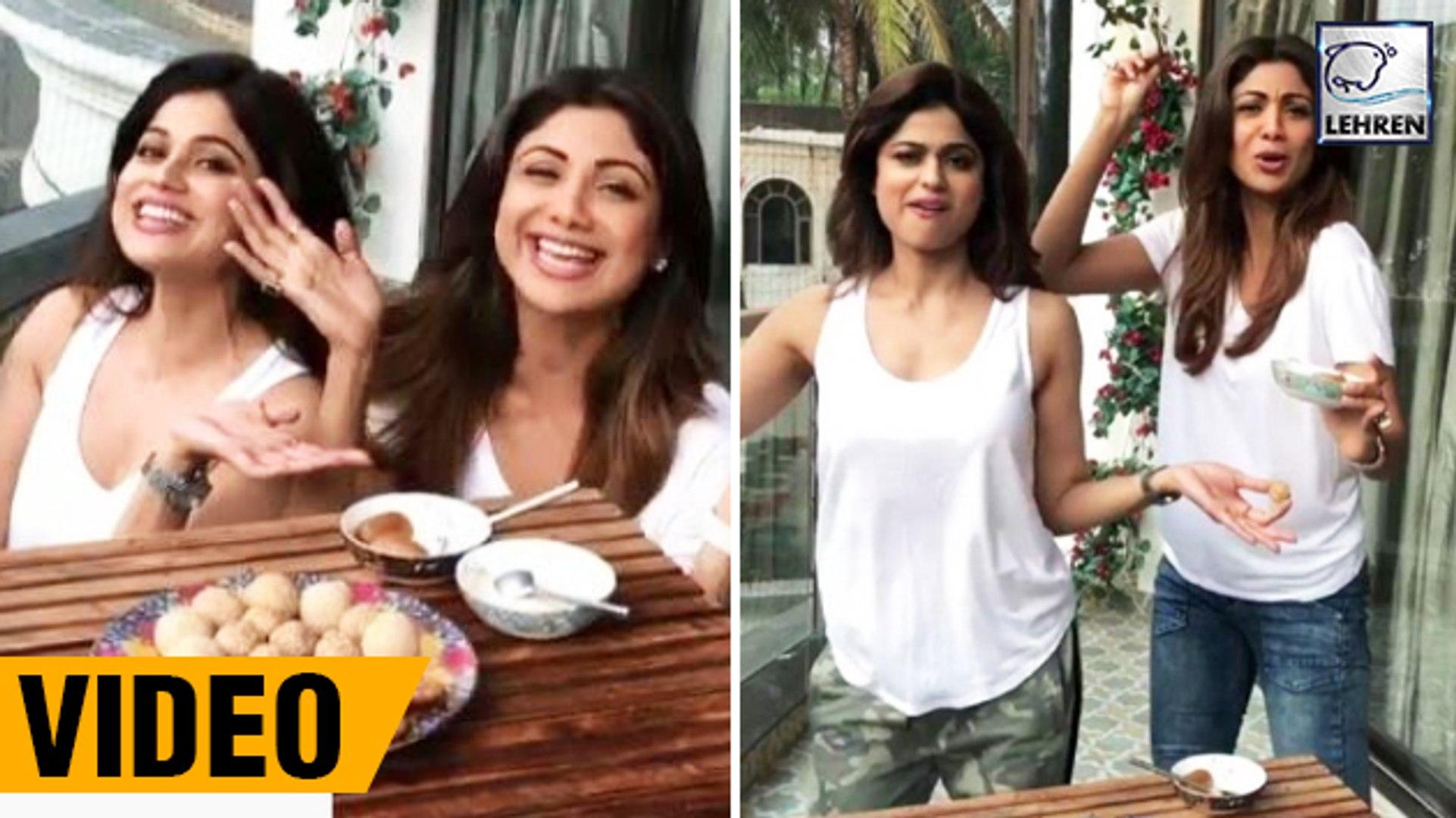 Shilpa Shetty's SWEET Makar Sankranti Wish With Sister Shamita Shetty
