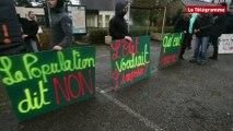Mûr-de-Bretagne (22). Une centaine de manifestants contre Variscan