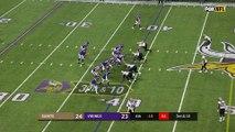 Football américain - Le touchdown hyper décisif de Stefon Diggs pour les Vikings
